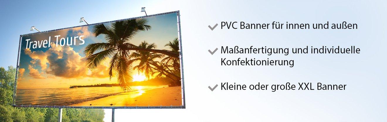 Foto PVC Banner mit individuellem Motiv