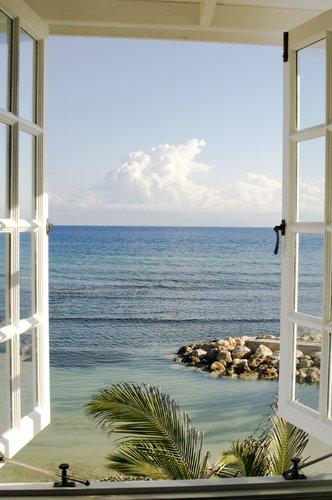Foto-Leinwand ohne Rahmen - Fenster zum Paradies (von © shotshop - Katja Sucker)