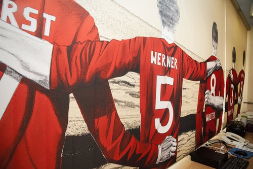 1. FC Kaiserslautern » Bedruckte Rollos mit Kassette