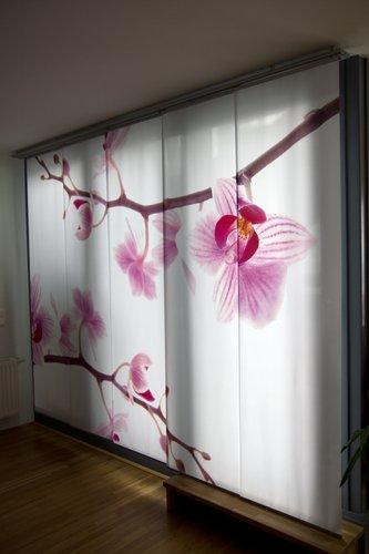 Schiebegardinen Orchidee